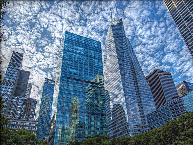 Foto edificios manhattan